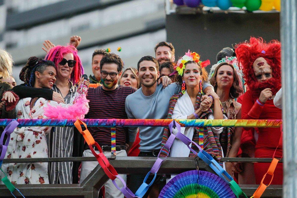 Sense8 rodó en el orgullo gay de Sao Paulo