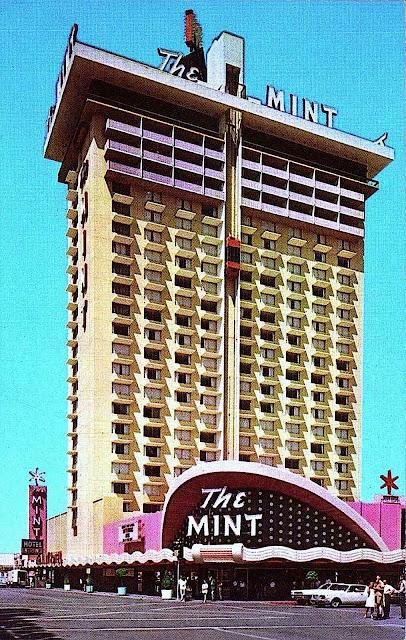 The MINT hotel & casino 1960s, hunter s thompson