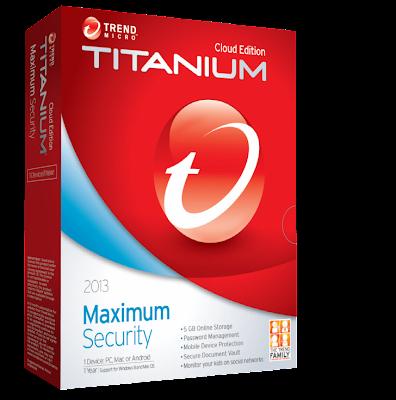 Trend micro titanium internet security 2012 activation code