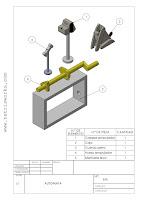 plano ensamblaje juguete automata solidworks