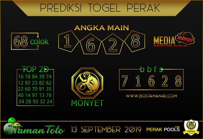 Prediksi Togel PERAK TAMAN TOTO 13 SEPTEMBER 2019