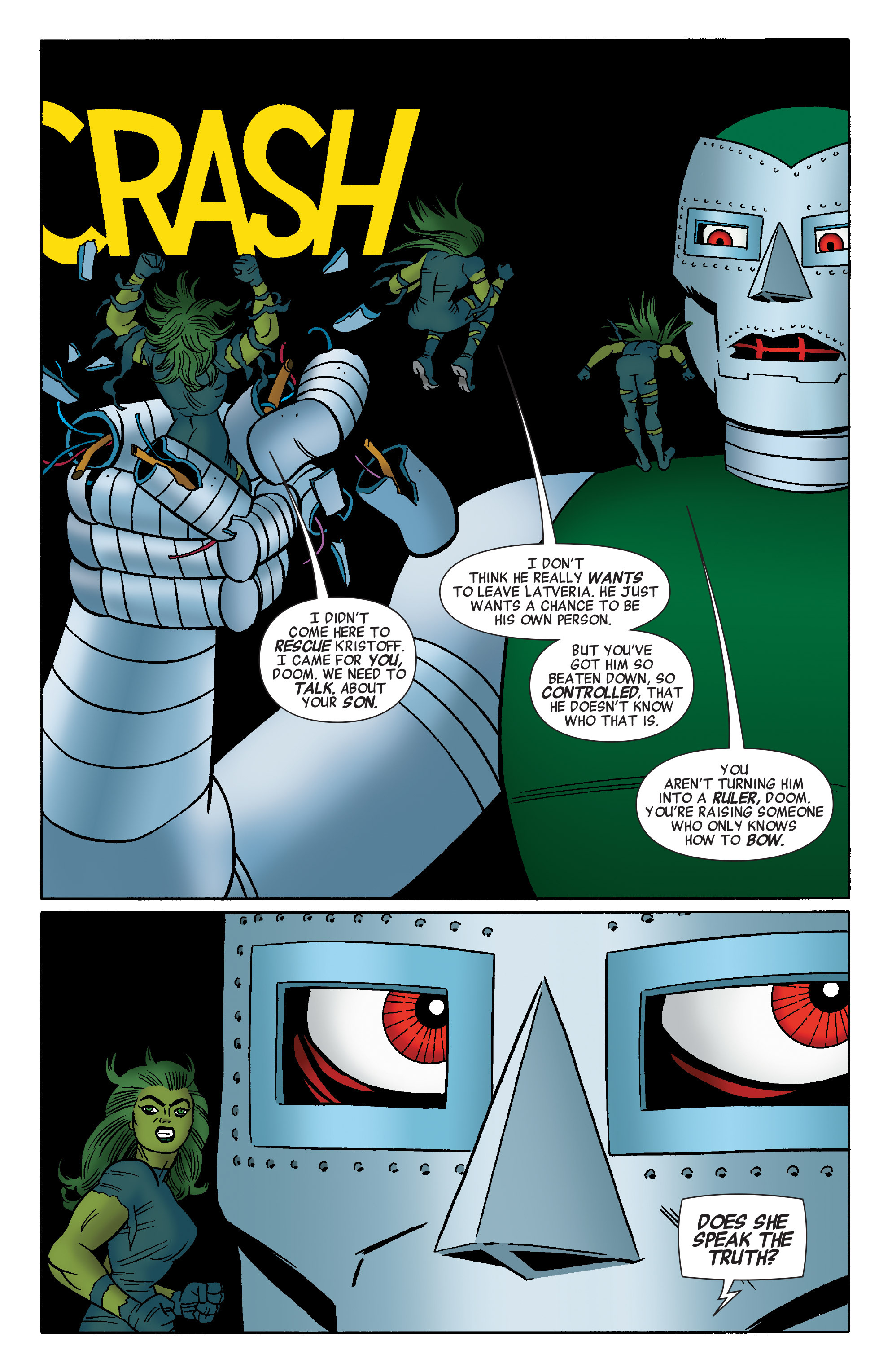 Read online She-Hulk (2014) comic -  Issue #4 - 14