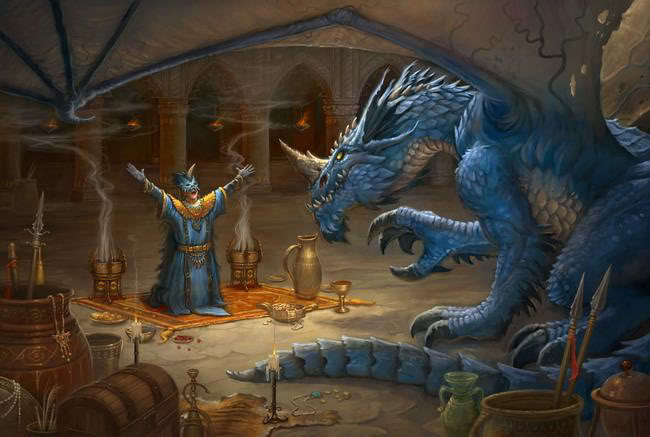 Blue Dragon Dd: Medieval Melodies: Creature Loot: D Is For Dragons (and A