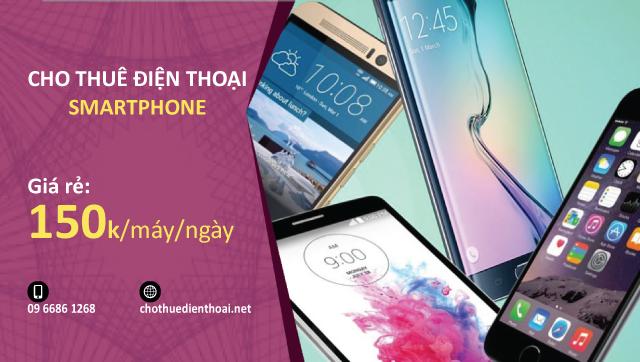 cho thuê điện thoại smartphone