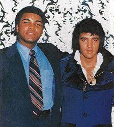 Muhammad Ali con Elvis presley