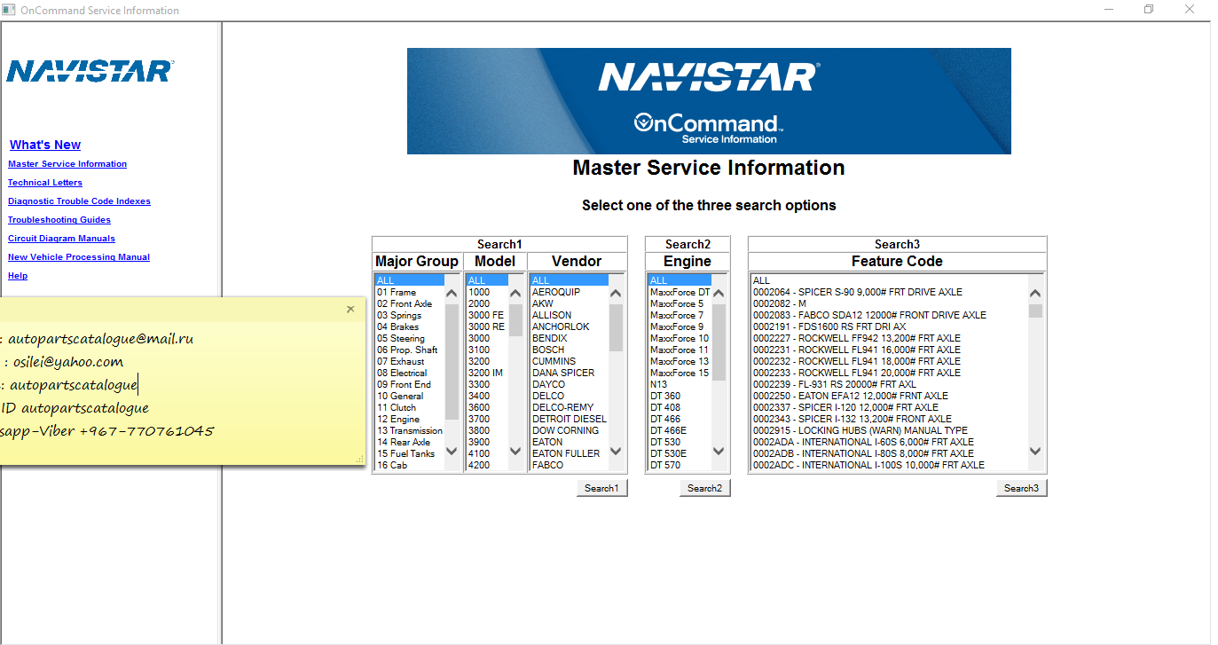 hight resolution of download size 10 97 gb data of update 04 2015 price private message loading video international navistar