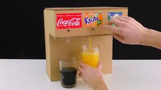 Cara Membuat Mini Dispenser Soda Sendiri