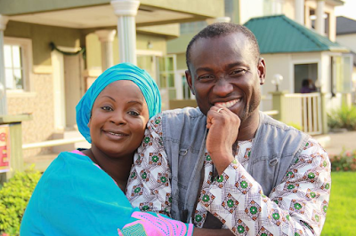 Image result for segun okeowo and wife