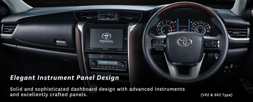 Elegant Instrument Panel-Design