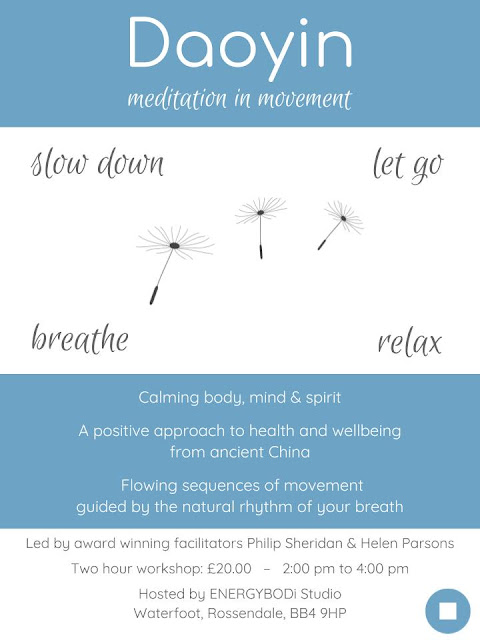 Daoyin - Meditaiton in Movement Workshop Poster