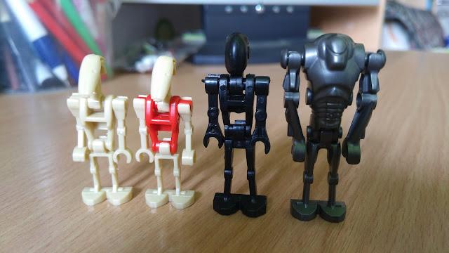 Боевые дроиды армии сепаратистов фигурки лего
