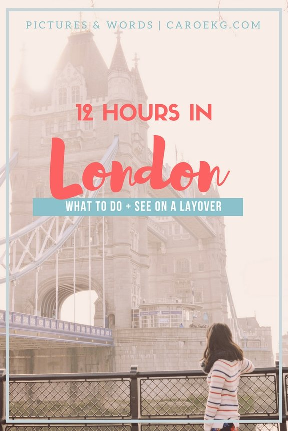 what to do on a london layover