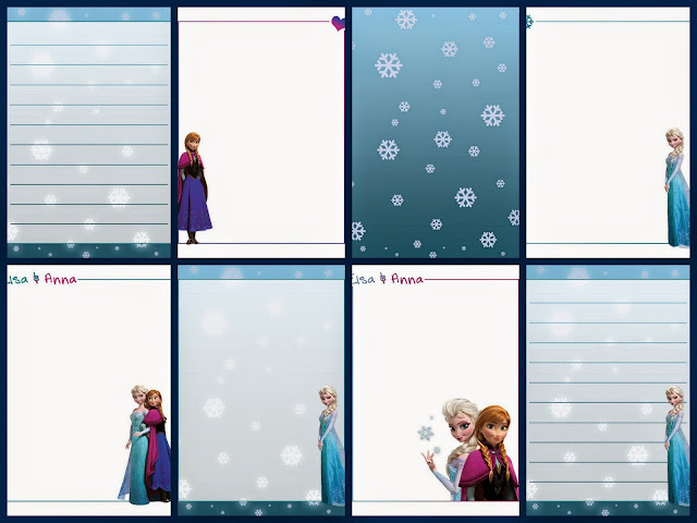 Cuaderno de Frozen para Imprimir Gratis. | Ideas y material gratis ...