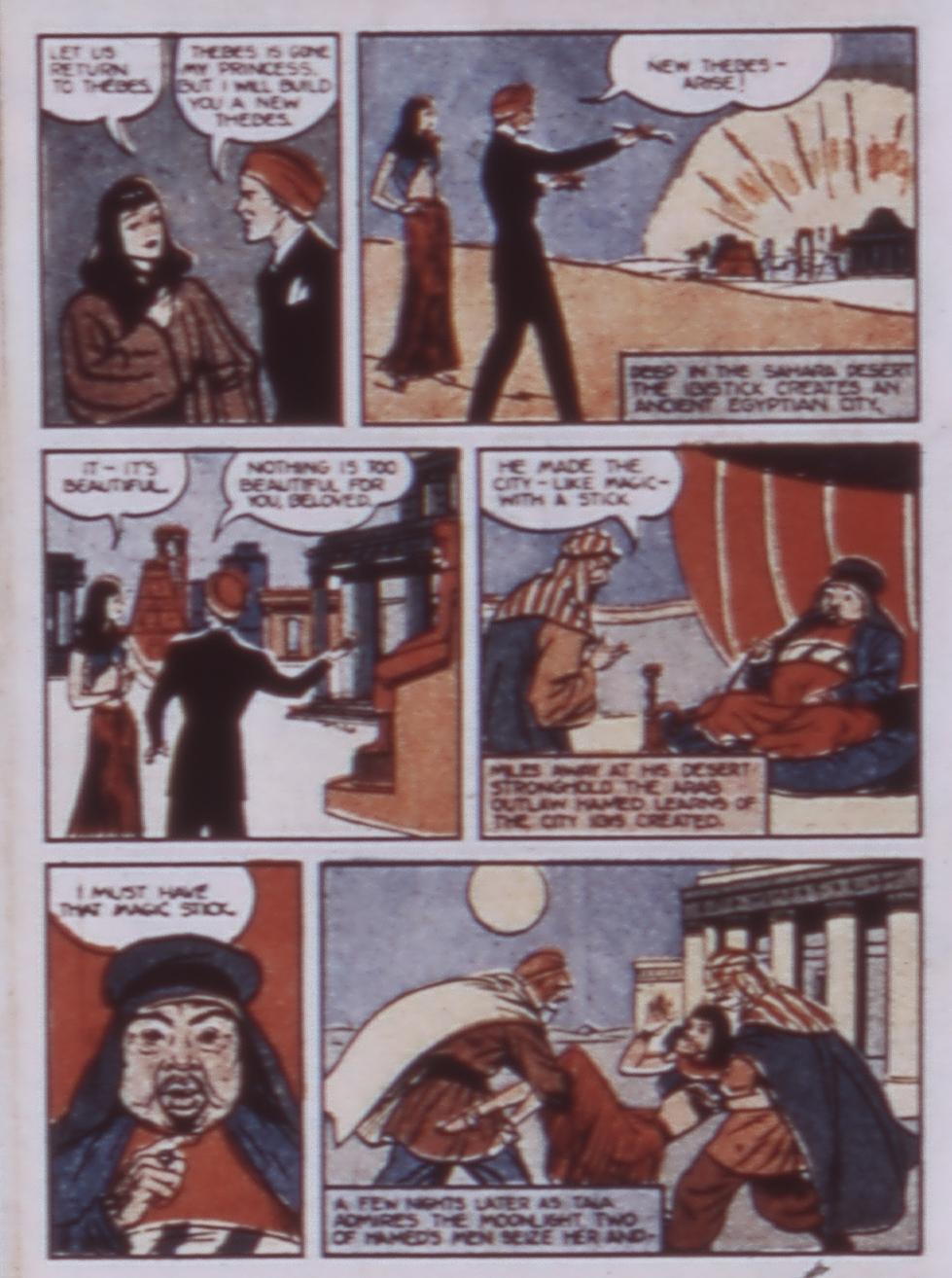 Read online WHIZ Comics comic -  Issue #3 - 38