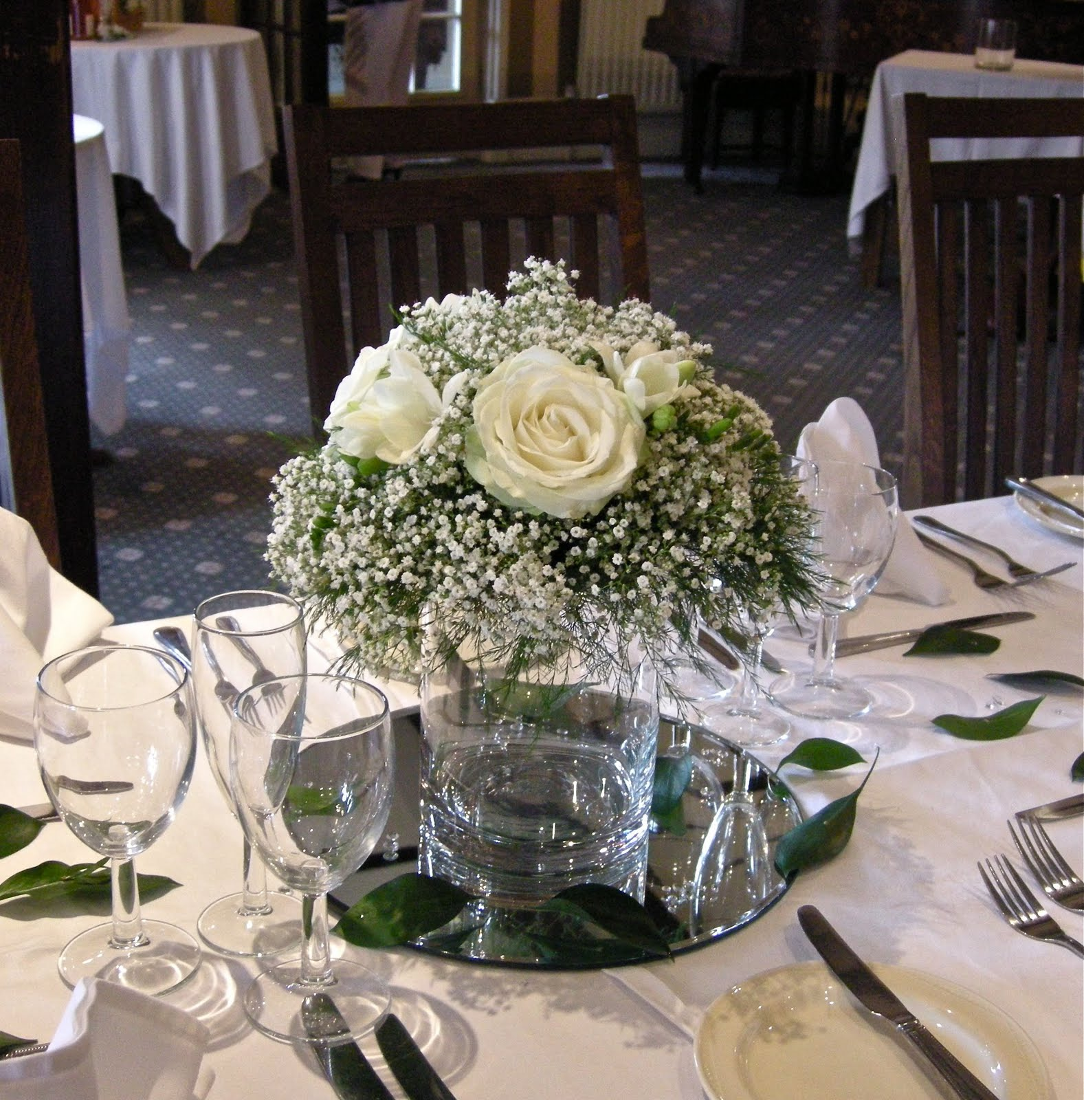 White Wedding Flowers: Flower Picture Inspirations: Emma's Green And White