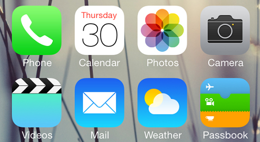aplikasi bawaan iphone