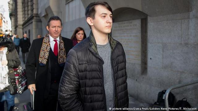 Studente Inglese (15 anni) condannato a 2 anni di prigione
