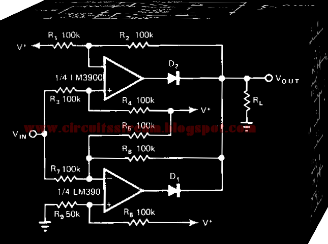 Simple Non Inverting Amplifier Circuit Diagram