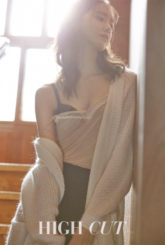Lộ hẳn áo ngực trên tạp chí , yoona đã không còn là yoona của ngày xưa 2!