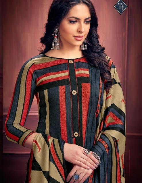 Tanishk fashion Gulistan Pashmina Winter Salwar kameez