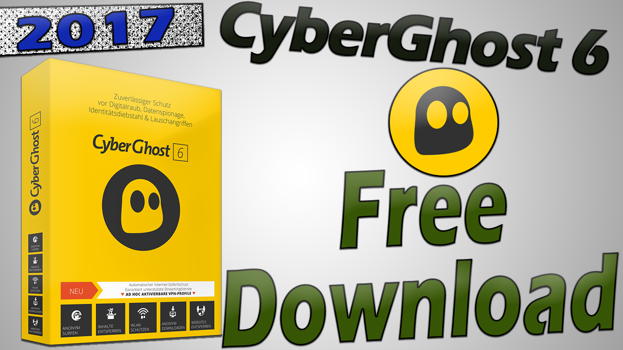 cyberghost free version