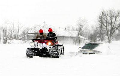 ISU Harghita, készenléti felügyelőség, hóvihar, Románia