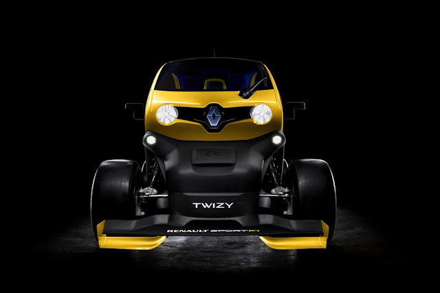 Twizy Renault Sport F1 Concept With KERS