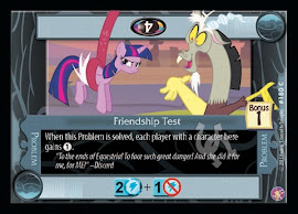 My Little Pony Friendship Test Absolute Discord CCG Card