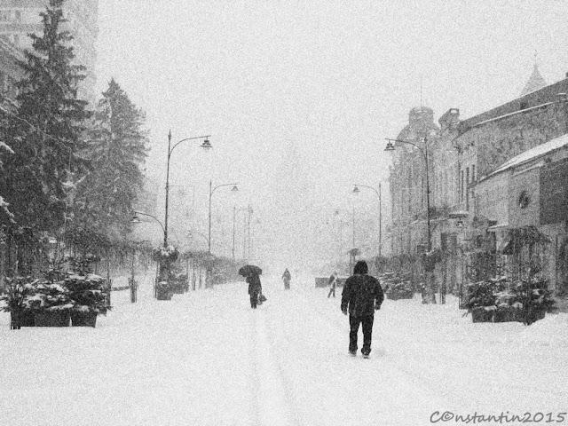Iarna pe pietonal la Iași - blog FOTO-IDEEA