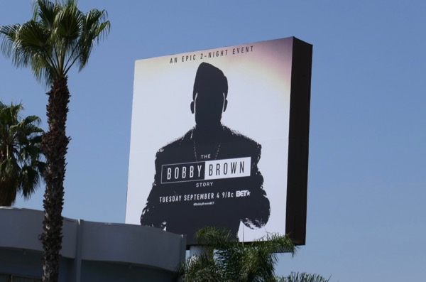 Bobby Brown Story billboard