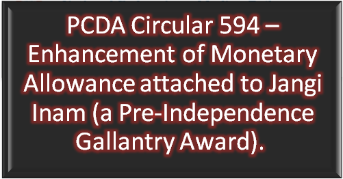 pcda-circular-594-enhancement-of-monetary-allowance-attached-to-jangi-inam-paramnews
