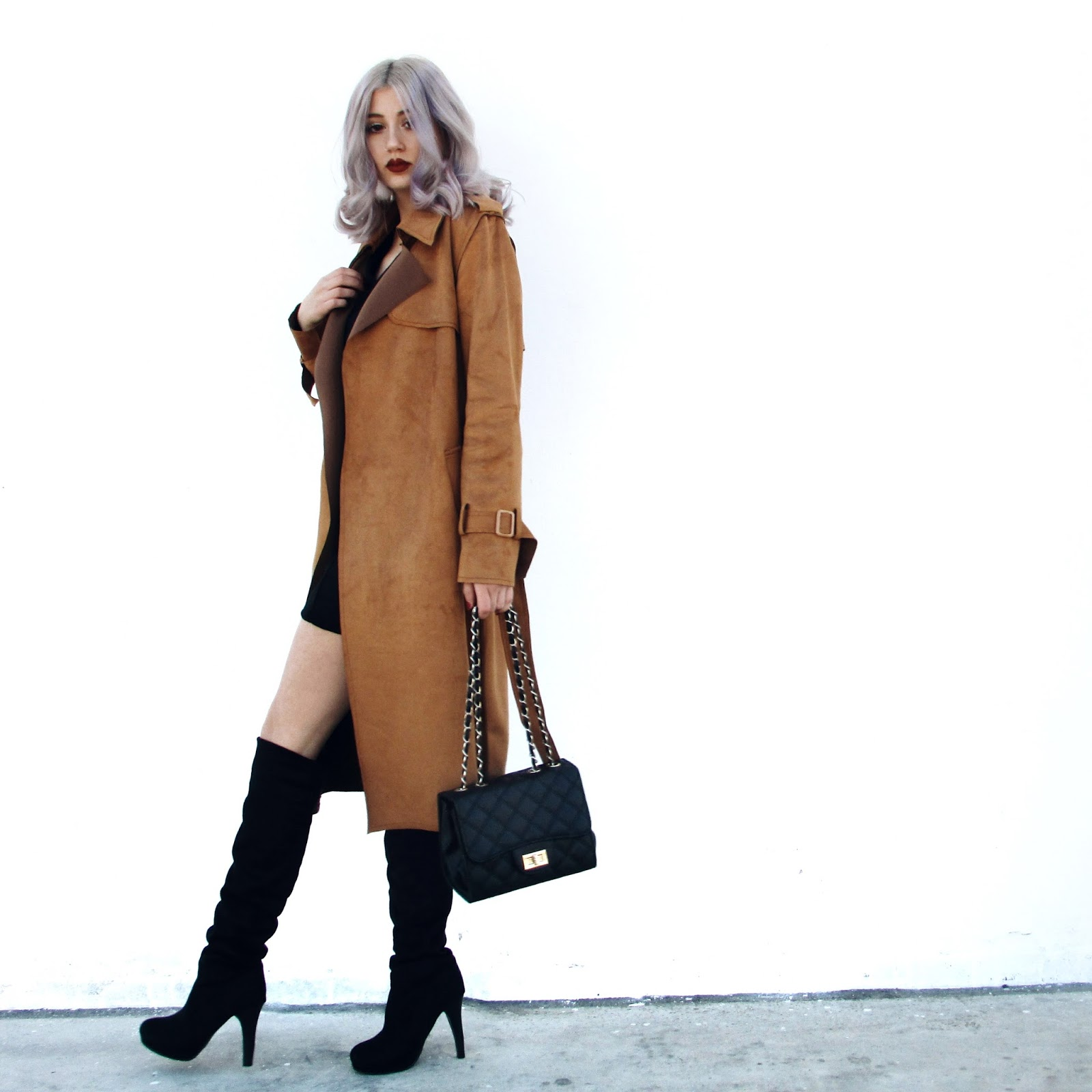 thigh high boots street style
