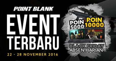 Event PB Maintenance 22 November 2016 Spesial Bonus EXP dan Point 300%