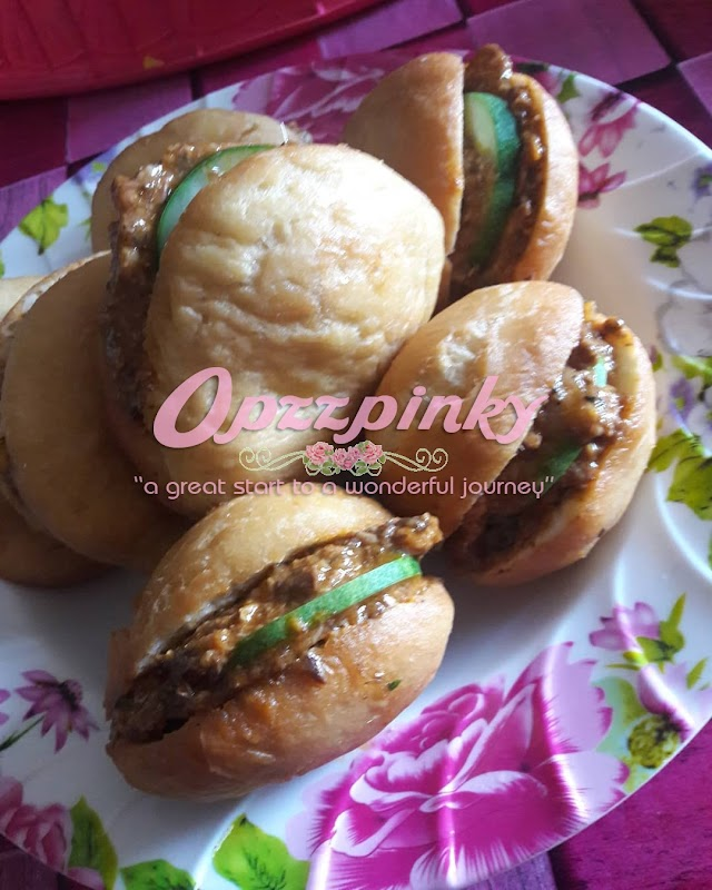 Resepi Berbuka Puasa - Burger Sardin