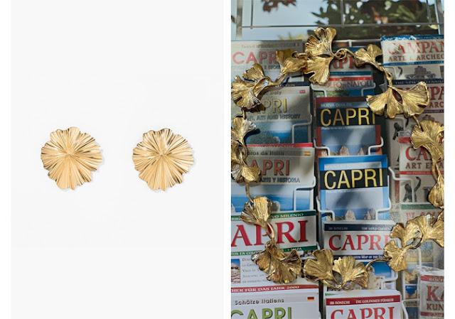 Aurélie Bidermann earrings and necklace
