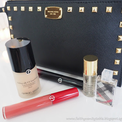 Review of Armani foundation and lipstick