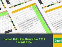Contoh Buku Kas Umum Bos 2017 Format Excel