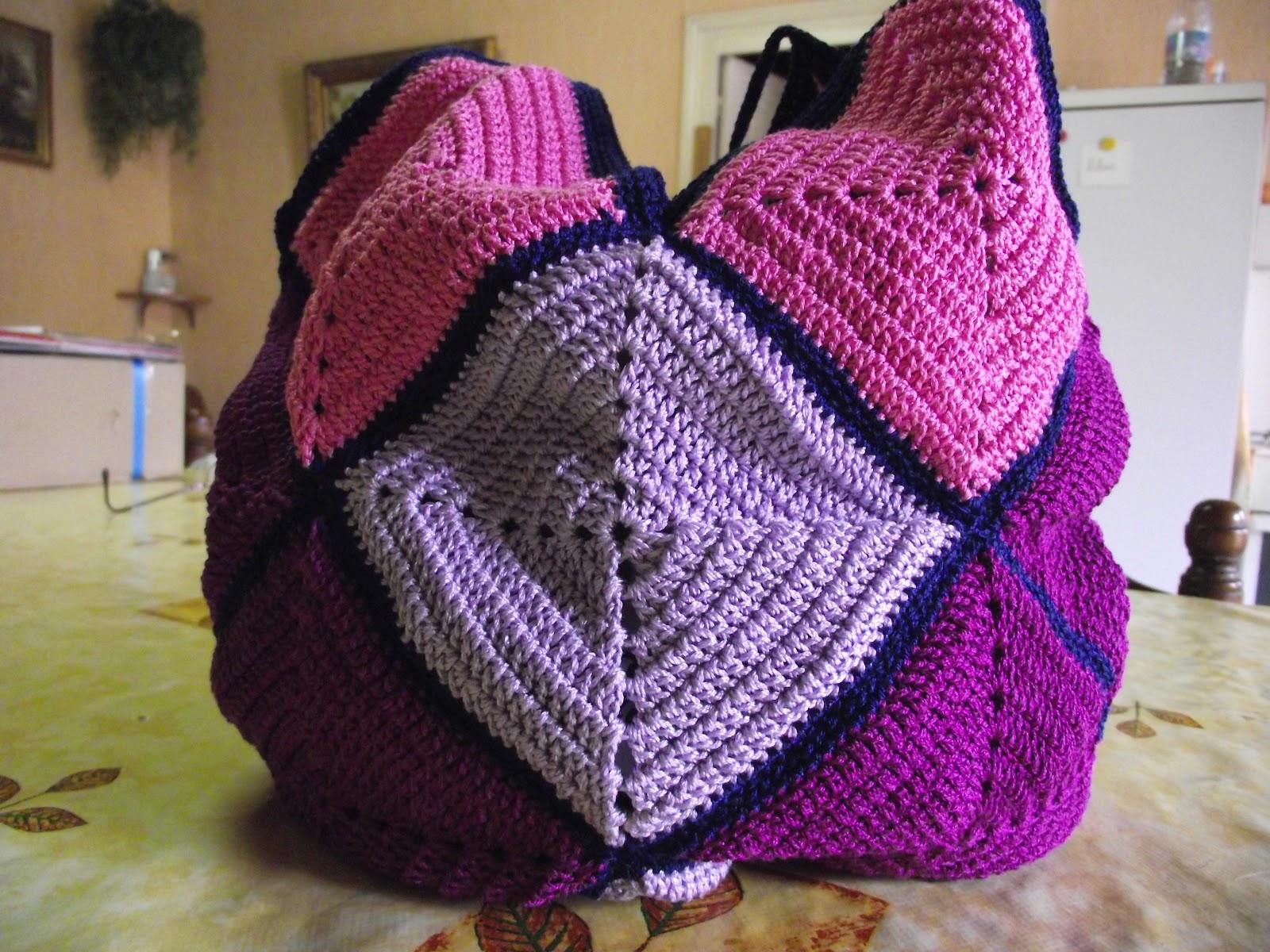 crochet et tricot facile avec explications sac au crochet. Black Bedroom Furniture Sets. Home Design Ideas