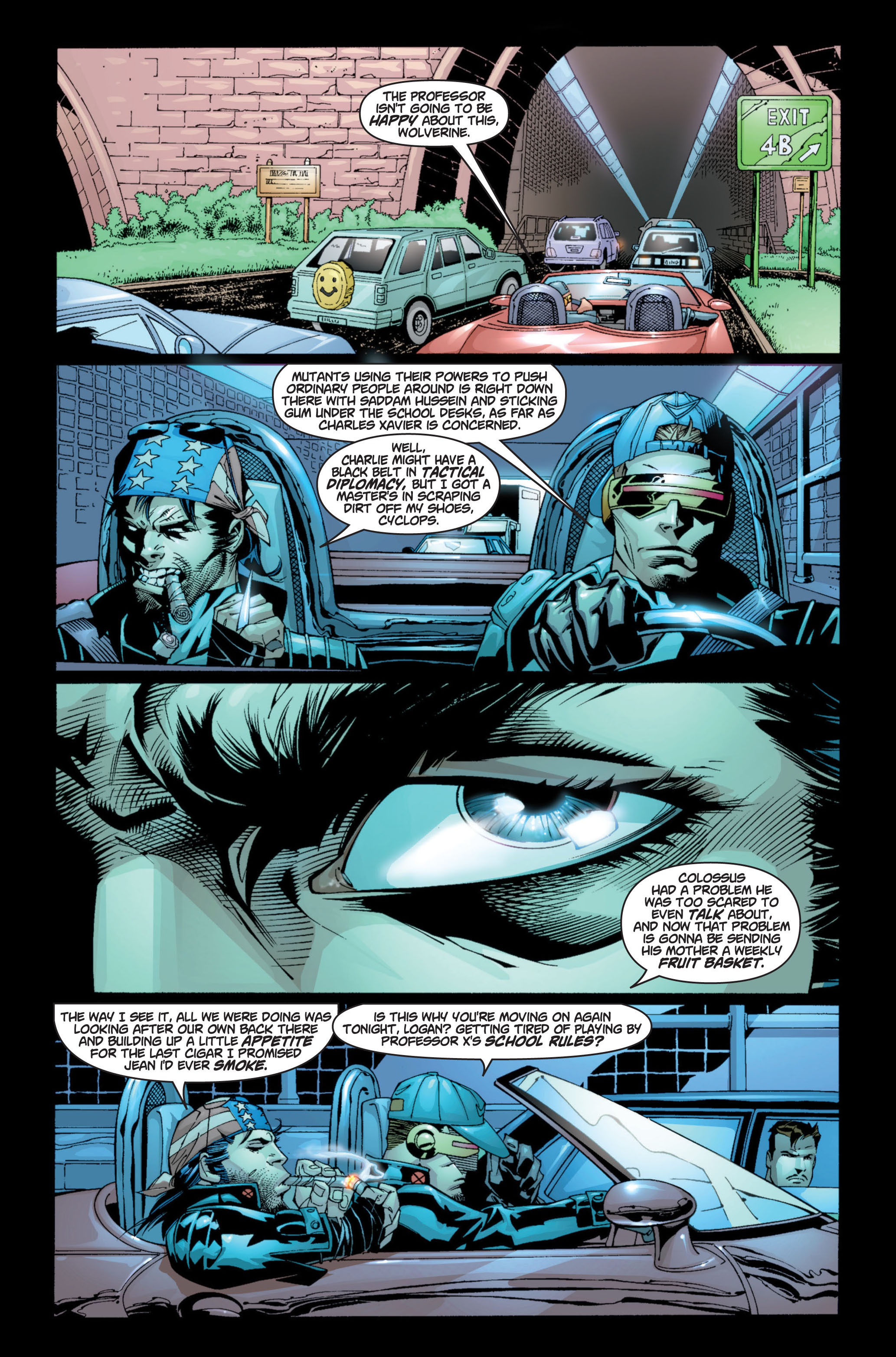 Read online Ultimate X-Men comic -  Issue #8 - 5