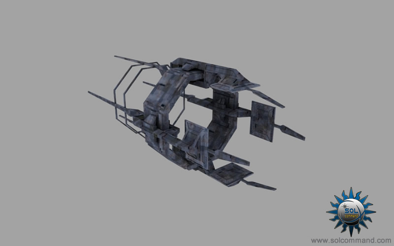 narlokian jump gate eve online design style caldari 3d model free download low poly