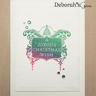 Joyous Christmas Wish sq - photo by Deborah Frings - Deborah's Gems