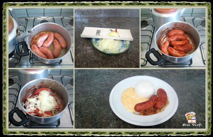Linguiça toscana com canjiquinha 5