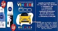 Logo Vinci la tua Fiat 500 Lounge con Nivea