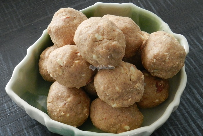 Atte Ki Pinni  Wheat Flour Ladoo  Magic of Indian Rasoi -Priya R