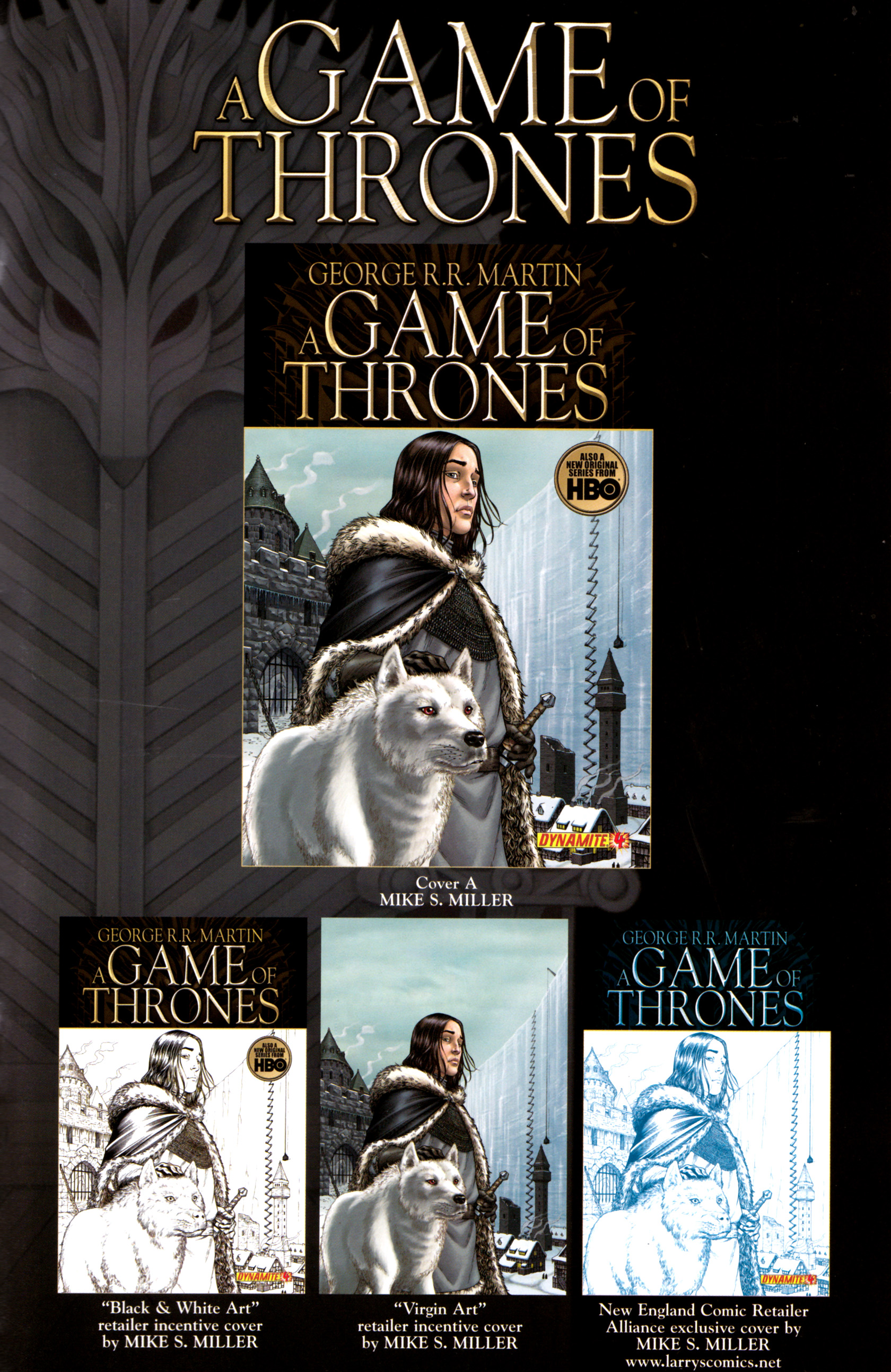Read online A Game Of Thrones comic -  Issue #4 - 35