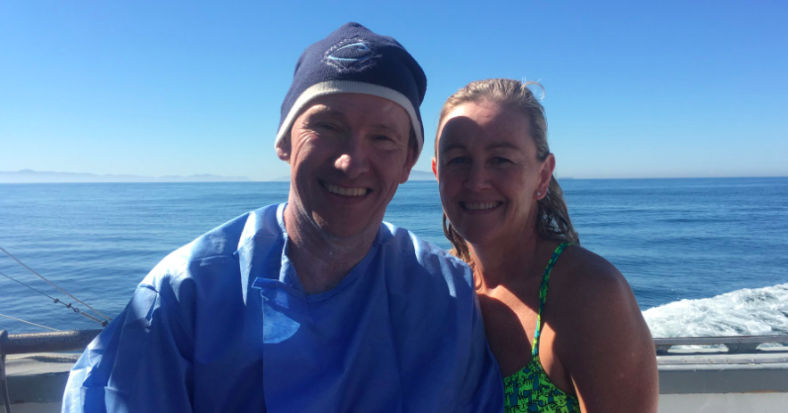 Mike Gregory Does Triple Crown Of Open Water Swimming