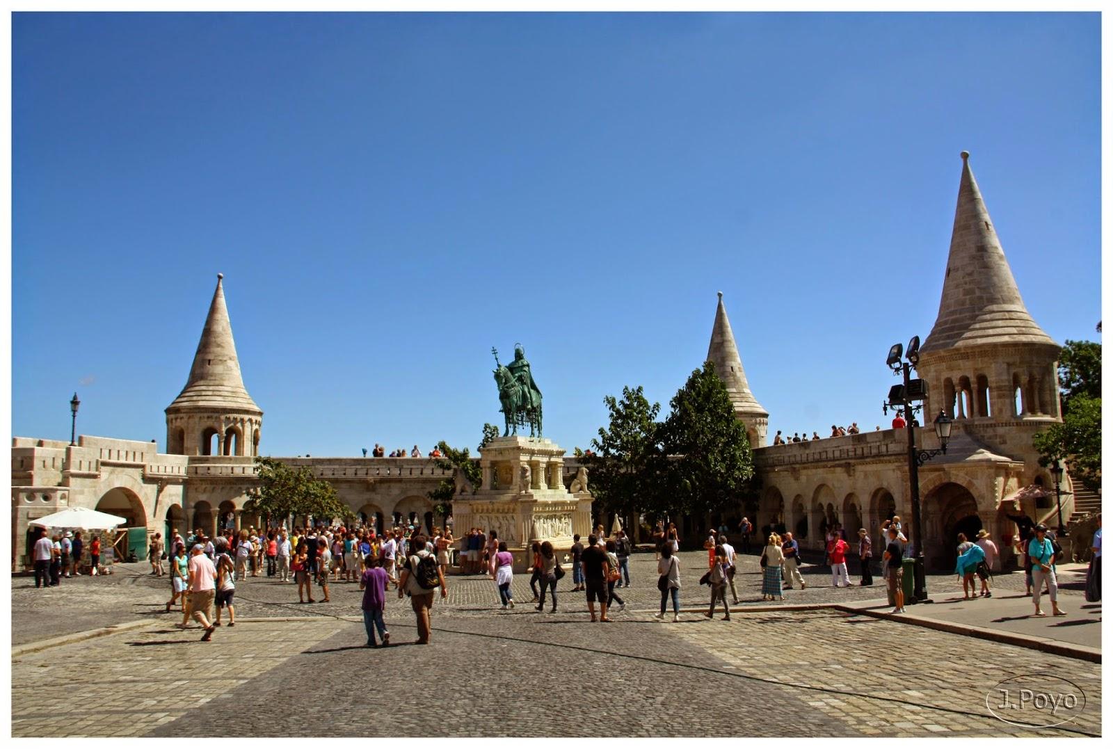 Plaza del Bastión, Budapest