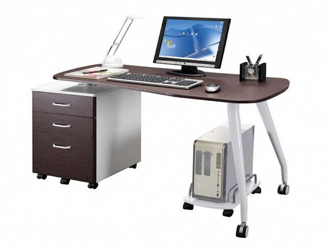 buying modern home office desk on wheels for sale