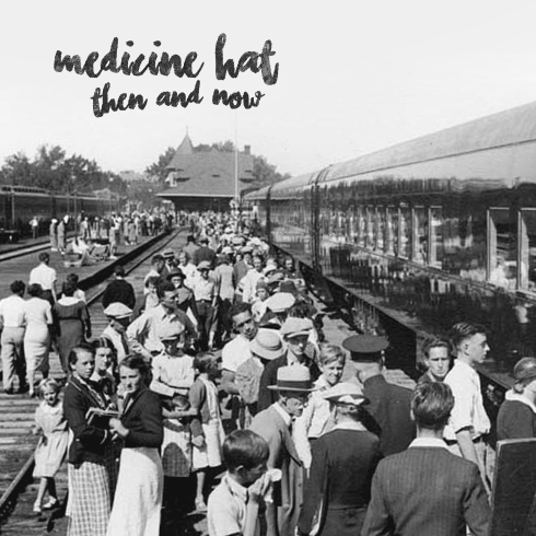 Medicine Hat Alberta Then Now