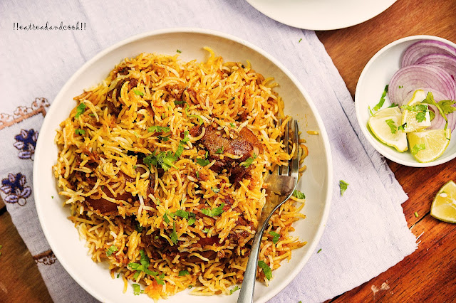 how to make Traditional Muslim Biryani recipe and preparation